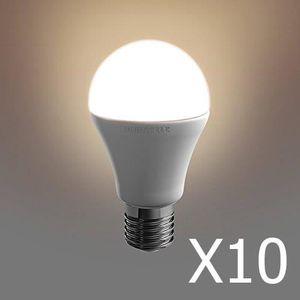 AMPOULE - LED Pack 10  ampoules Duracell LED E27 40W A-Shape
