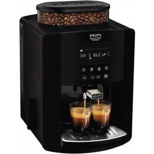 MACHINE À CAFÉ Robot café 15 bars noir - YY3074FD - KRUPS