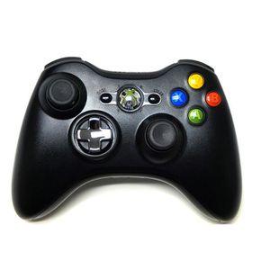 MANETTE JEUX VIDÉO Manette Microsoft sans fil Noire Xbox 360