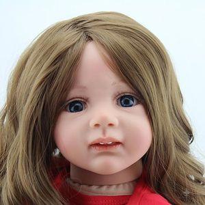 POUPÉE 60 cm Bébé Silicone Reborn Poupées Loisirs jouets