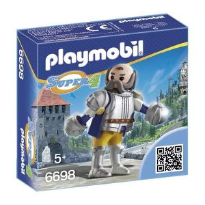 UNIVERS MINIATURE PLAYMOBIL 6698 - Super 4 - Sire Ulf Le Garde Royal