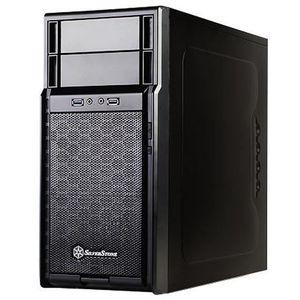 BOITIER PC  SilverStone SST-PS08B - Precision Boîtier PC mini