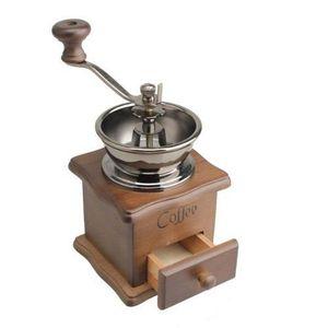 COMBINÉ EXPRESSO CAFETIÈRE Mini Grain de cafe Epice Vintage Style Meuleuse a