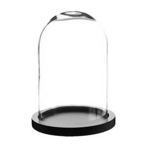 cloche en verre deco achat vente cloche en verre deco pas cher soldes cdiscount. Black Bedroom Furniture Sets. Home Design Ideas