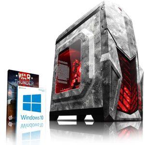 UNITÉ CENTRALE  VIBOX Clarity 10 PC Gamer - AMD 8-Core, Geforce GT