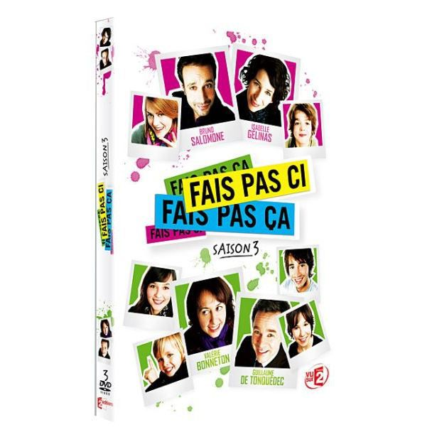 dvd fais pas ci fais pas a saison 3 en dvd s rie pas cher cdiscount. Black Bedroom Furniture Sets. Home Design Ideas
