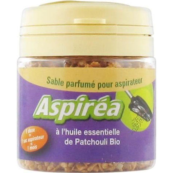 ASPIREA Sable Parfumé pour Aspirateur Patchouli(Bio)