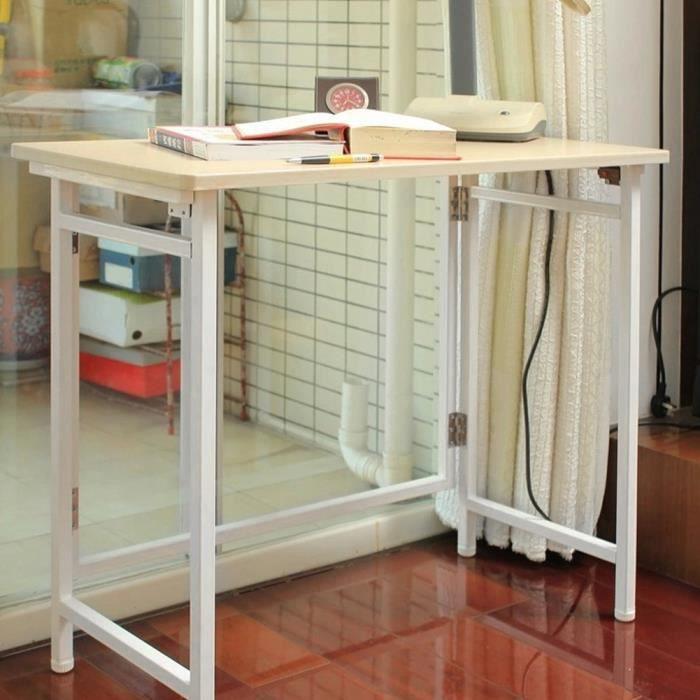 Meubles simples de travail de bureau d'étude de bureau à la maison pliable multi-fonctionnel d'ordinateur de bureau-LAV
