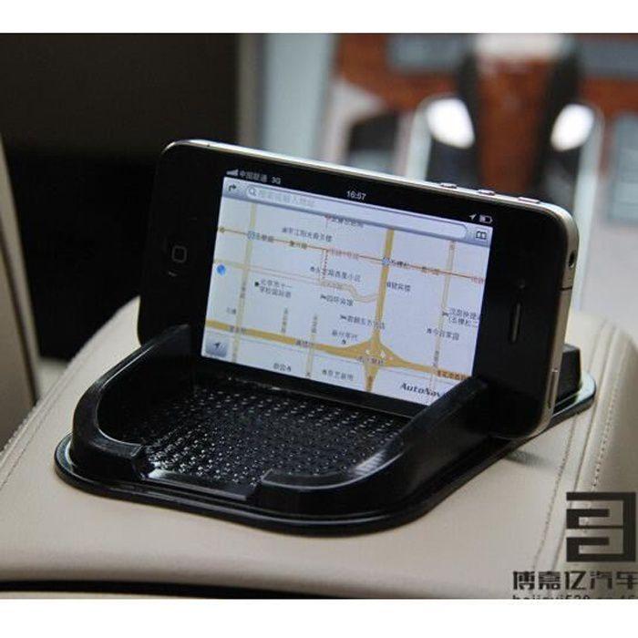 Tapis collant de voiture tableau de bord Anti-dérapant Gadget Téléphone Mobile GPS Support Voiture