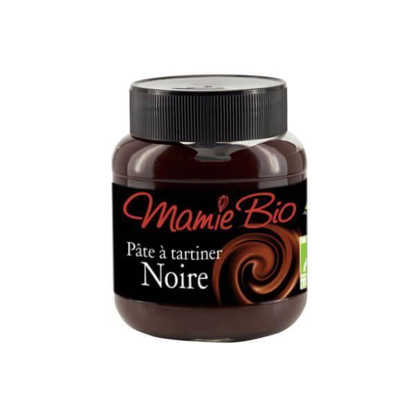 MAMIBIO - PATE A TARTINER NOIR CHOCOLAT NOIR 350G