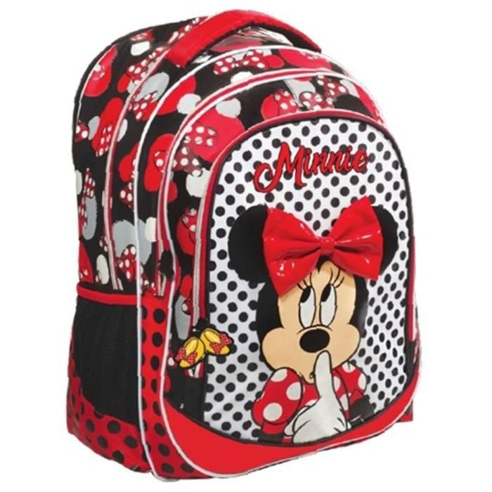 Sac à dos Minnie Mouse Couture 43 CM - 2 Cpt
