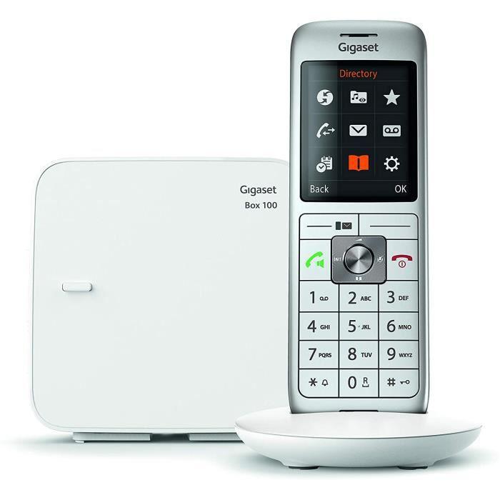 Gigaset CL660 Solo - Téléphone Fixe Sans Fil - 1 Combiné - Blanc