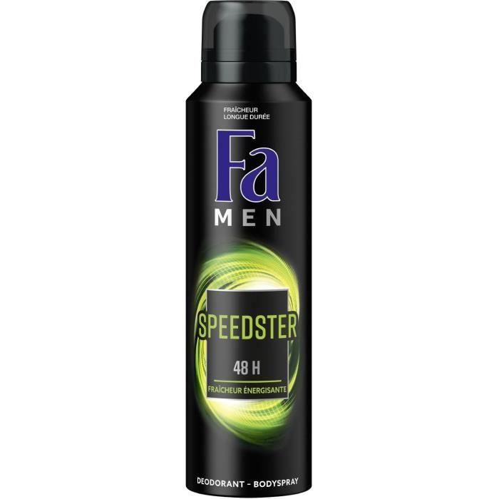 FA Déodorant Speedster Fraîcheur énergisant - 150 ml