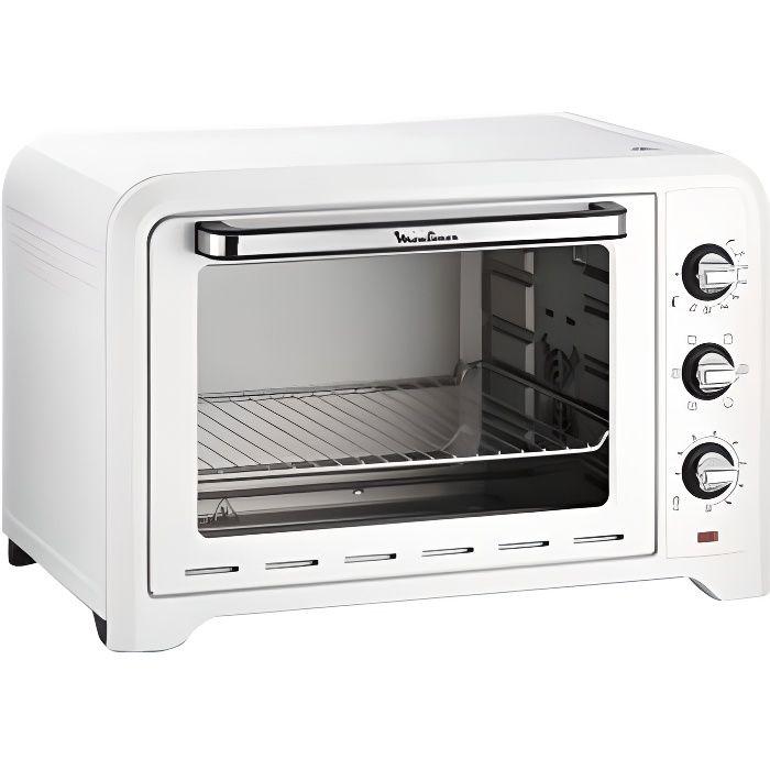 mini four de 39L avec 6 mode de cuisson 2000W blanc