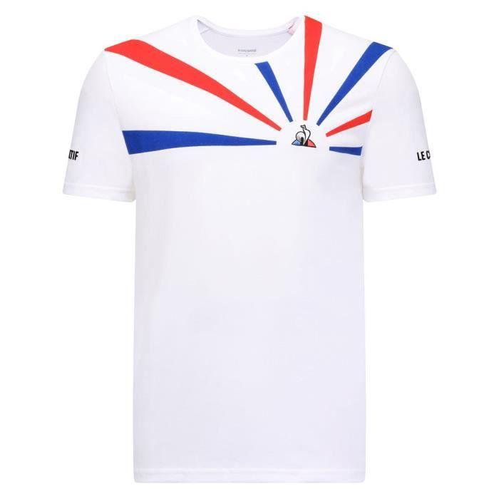 Vêtements Homme T-Shirts Le Coq Sportif Tennis 20 Nº2