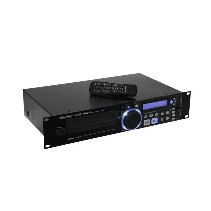 Omnitronic XCP-1400 Lecteur CD