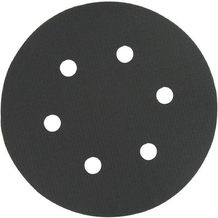 Patin auto-agrippant/adhésif SCID 6 trous Ø150mm