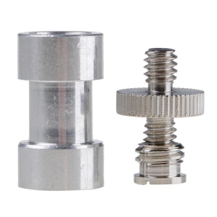1-4 -3-8- Vis de trépied Convertir adaptateur pour DSLR - Trépied - Light Support - Cage de l'appareil photo