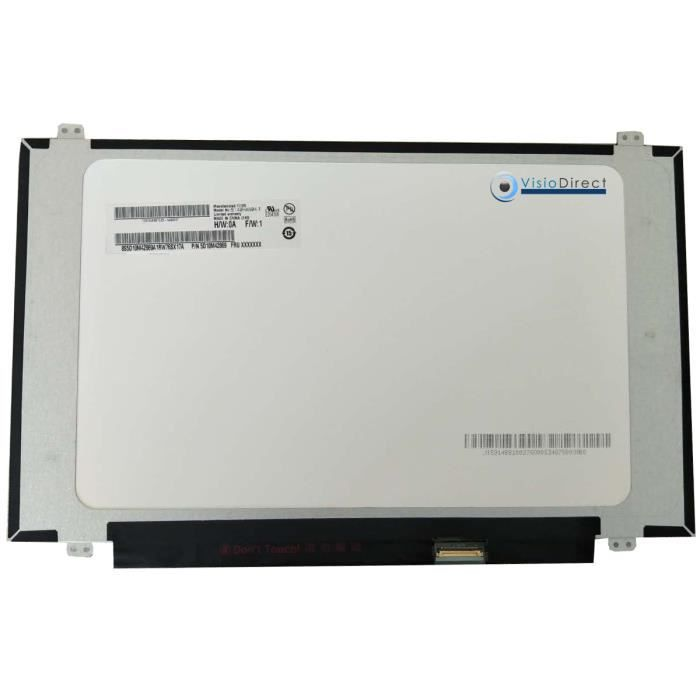 Dalle ecran 14- LED type TV140FHM-NH0 1920 X 1080 30 pin 315mm avec fixation