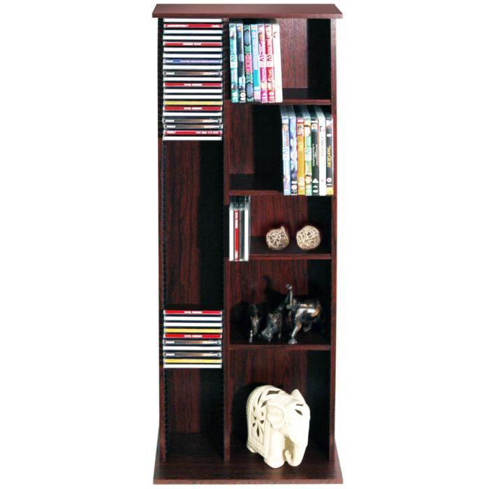 hudson tag re de rangement cd dvd finition a achat. Black Bedroom Furniture Sets. Home Design Ideas