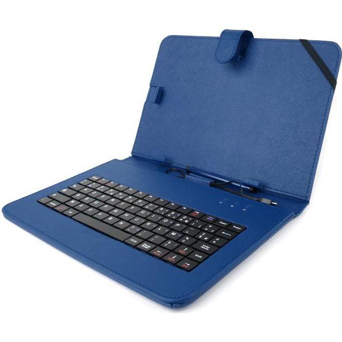 Etui clavier pour samsung galaxy tab 4 7 pouces