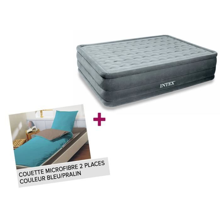 matelas gonflable lectrique 2 places intex ultra. Black Bedroom Furniture Sets. Home Design Ideas