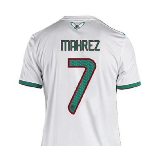 buying cheap on sale official supplier Maillot +Short Mahrez n°7 Algerie ** 2 Etoiles Superbe avec ...