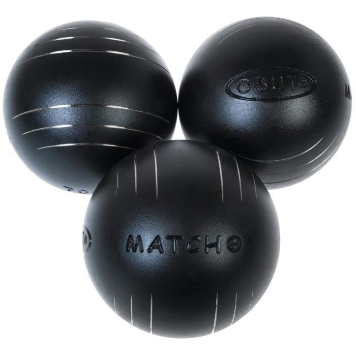 boules de p tanque match durete 74mm obut 730g prix pas cher cdiscount. Black Bedroom Furniture Sets. Home Design Ideas
