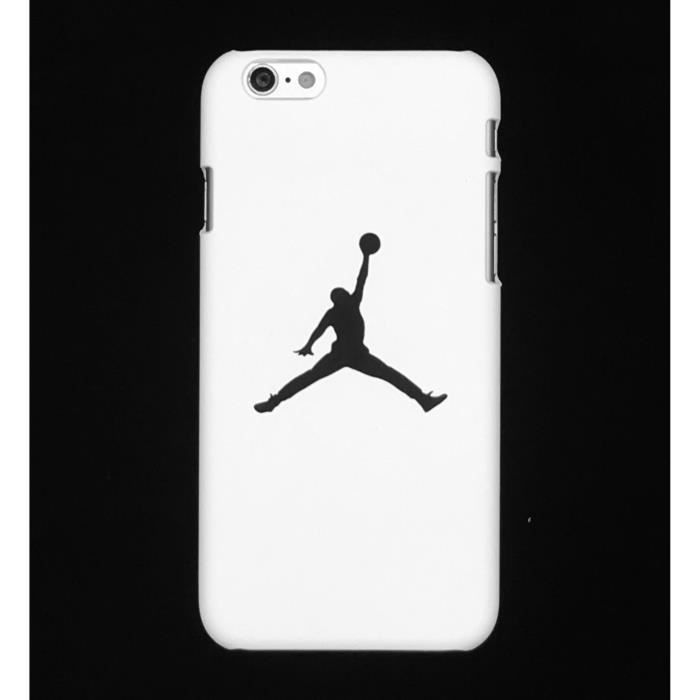 Air Jordan Coque Apple Coque iPhone 6 6s - Blanc