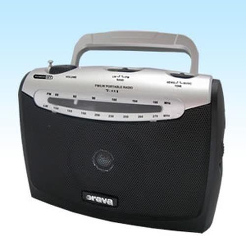 RADIO CD CASSETTE Orava T-111, Portable, Analogique, FM,LW, 3,5 mm,
