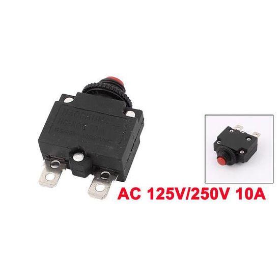 sourcingmap/® AC 125V//250V 15A compresseur Air Protecteur surcharge thermique Disjoncteur 3pcs