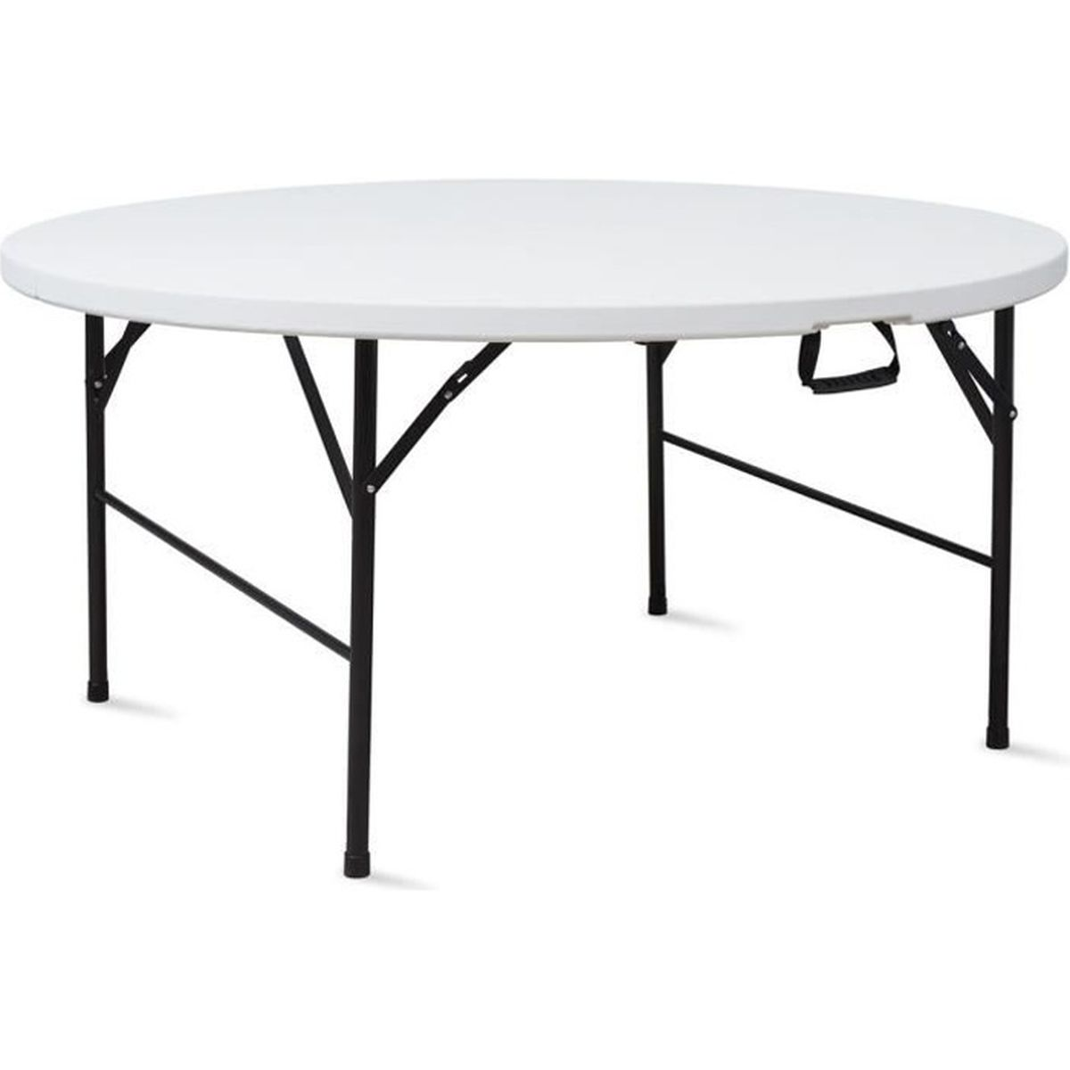 table pliante ronde 180 cm portable achat vente table. Black Bedroom Furniture Sets. Home Design Ideas