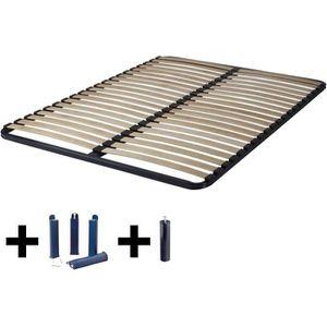 SOMMIER Altolattes - Pack Sommier 2x20 Lattes 120x190cm +
