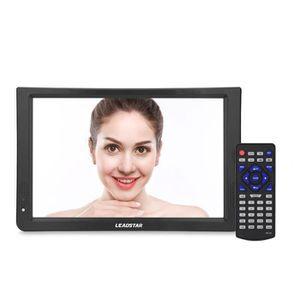 Téléviseur LCD LEADSTAR 11.6inch DVB-T-T2 TV Téléviseur Analogiqu