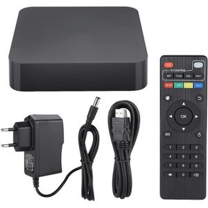 BOX MULTIMEDIA Smart TV Box Décodeur WIFI TV Box Set-Top Box Lect