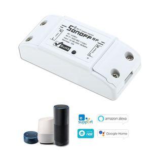 RABOTEUSE SONOFF RF Wifi RF 433MHz fonctionne avec Alexa pou