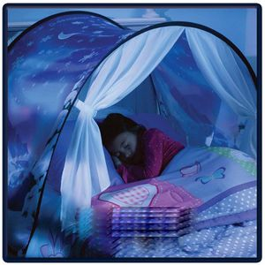 LITS SUPERPOSÉS tenoens® Enfants Hot Pop Up Bed Tente Playhouse Wi