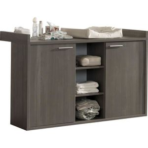 commode a langer bebe achat vente commode a langer bebe pas cher cdiscount. Black Bedroom Furniture Sets. Home Design Ideas