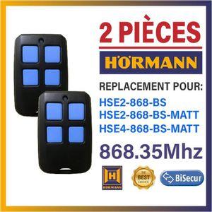 868.3/Mhz BiSecur /Émetteur 4/Canaux H/örmann HSE4/868/BS mat noir T/él/écommande De qualit/é sup/érieure du T/él/écommande dorigine pour H/örmann le meilleur prix.