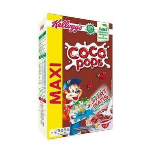 MUESLI FLOCON KELLOGG'S Céréales Coco Pops - 550 g