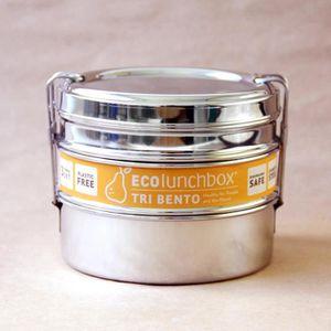 LUNCH BOX - BENTO  Lunch Box Inox Tri Bento - ECOLUNCHBOX UNIQUE INOX