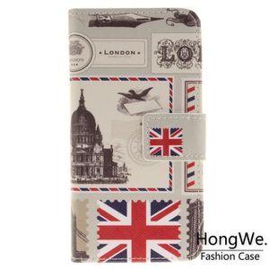 HOUSSE - ÉTUI Pour Apple iPhone 7-8 Enveloppe de Londres Clapet