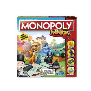 JEU SOCIÉTÉ - PLATEAU Monopoly - Jeu de societe Monopoly Junior - Jeu de