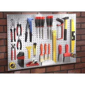 porte outils mural achat vente porte outils mural pas cher cdiscount. Black Bedroom Furniture Sets. Home Design Ideas