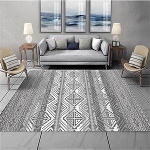 TAPIS tapis berbere salon 100*200cm grand tapis géométri