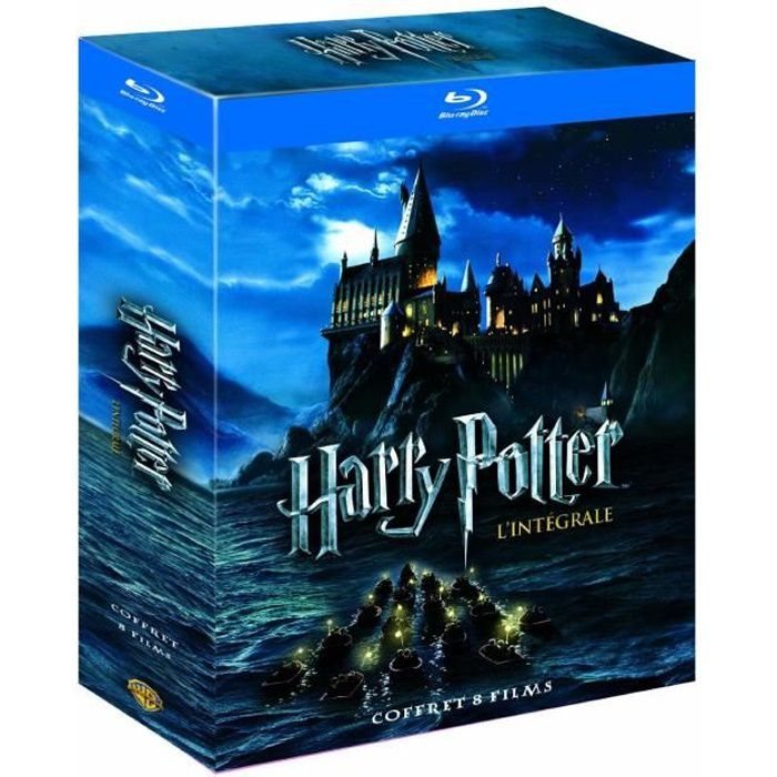 blu ray harry potter 1 7b coffret 11 blu ray en blu ray film pas cher alan rickman bill nighy. Black Bedroom Furniture Sets. Home Design Ideas