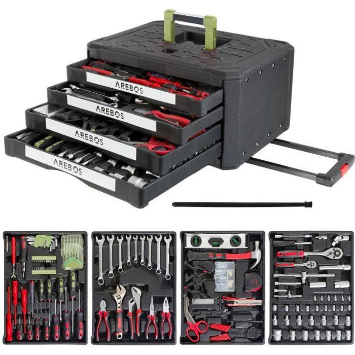 Boîte à outils 300 pièces Boîte à outils Coffret à outils Set à outils
