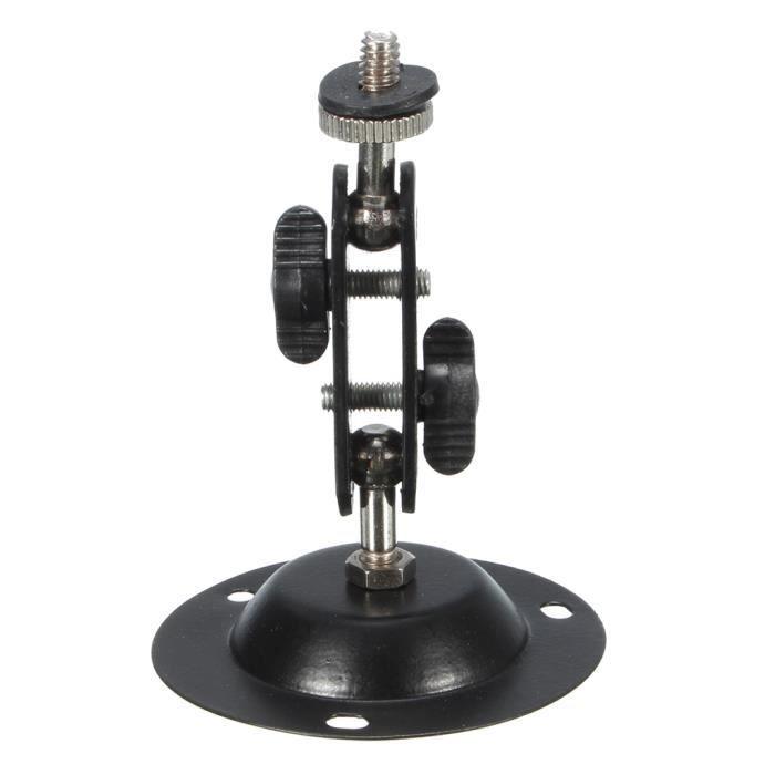 Le Support De Caméra De Surveillance Installe Le Support Rotatif Pour La Caméra De Vidéosurveillance