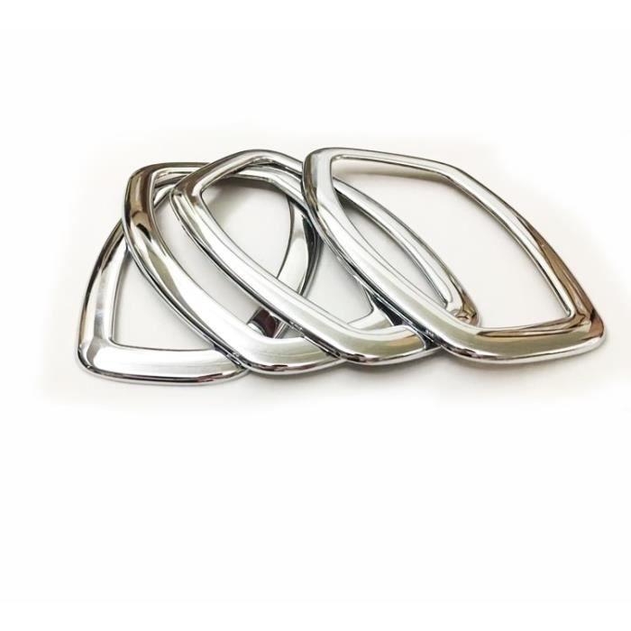 Pièces Auto,Intérieur intérieur poignée de porte couvre garniture voiture accessoires pour Lada Xray Renault Clio 4 - Type GLOSSY