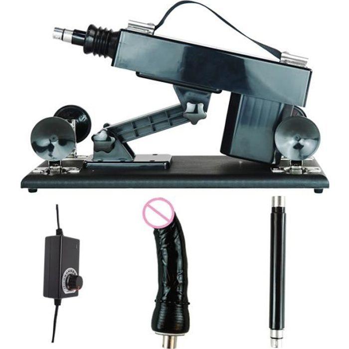 Appareil de massage,FREDORCH sexe Machine automatique avec des accessoires de gode Masturbation féminine pistolet - Type Package A